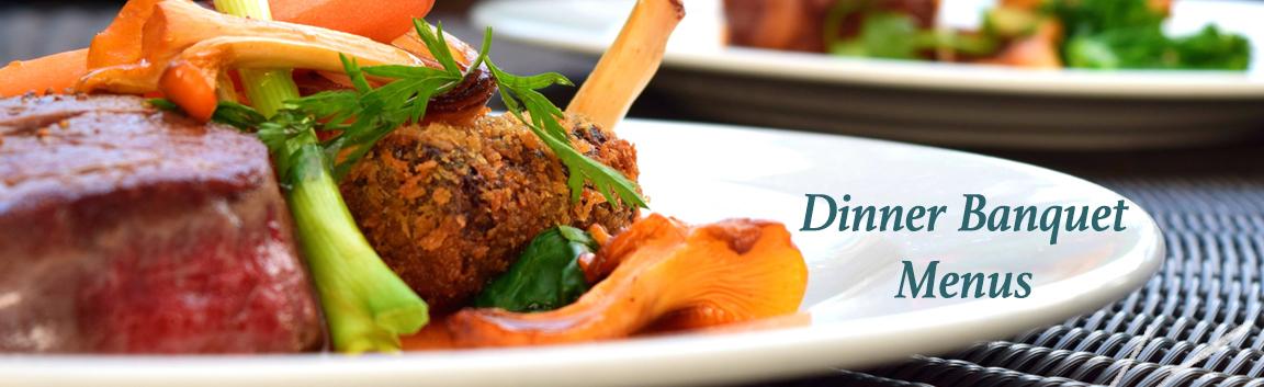 Guildford Dinner Menus